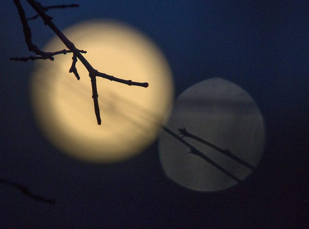 Full 'Hunter's Moon' to shine above Casper Mountain in wake of heavy snow