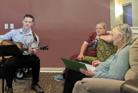 Music therapy helps all ages, young and old