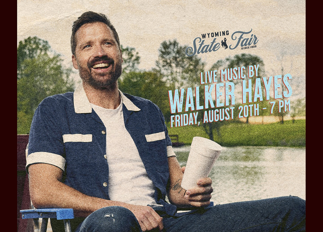 Country artist Walker Hayes to play Wyoming State Fair