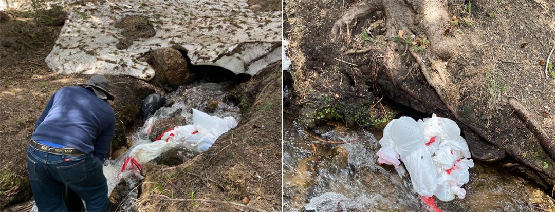 Man caught dumping human waste in high Colorado mountain stream