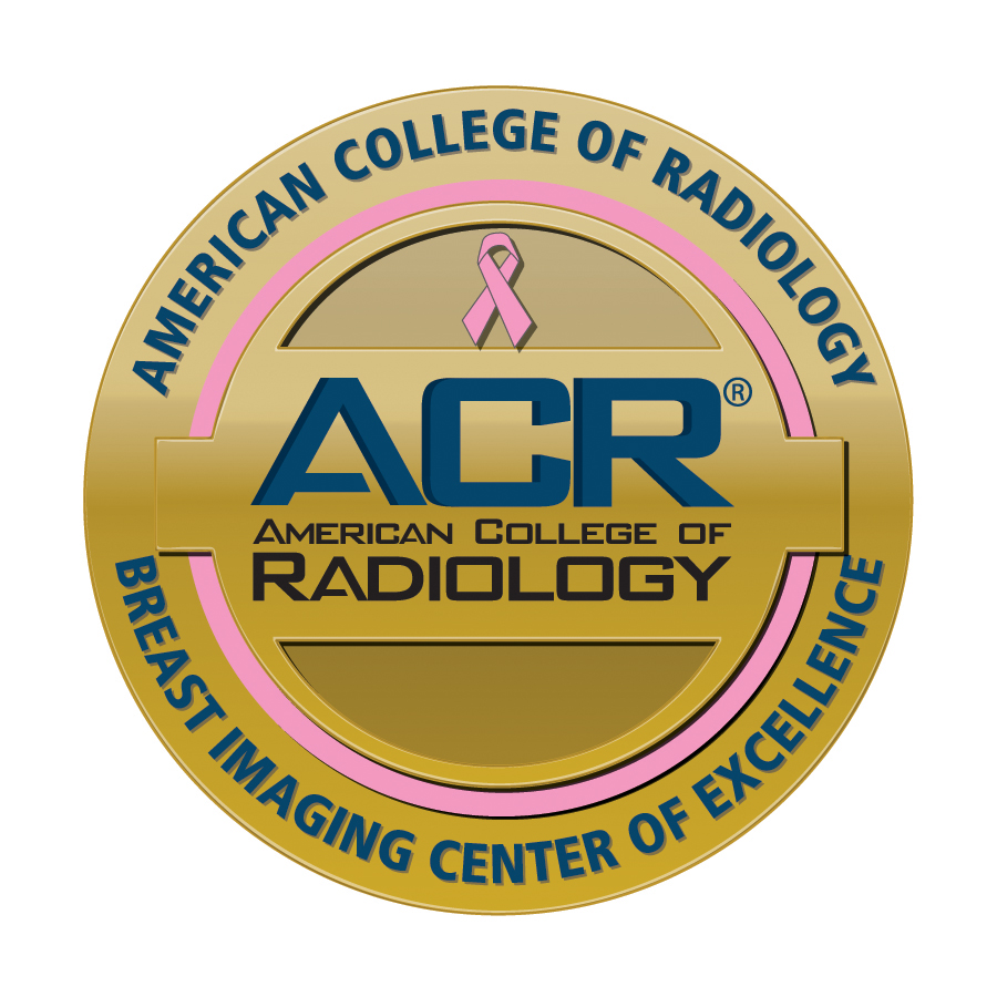 Breast Imaging Center of Excellence seal