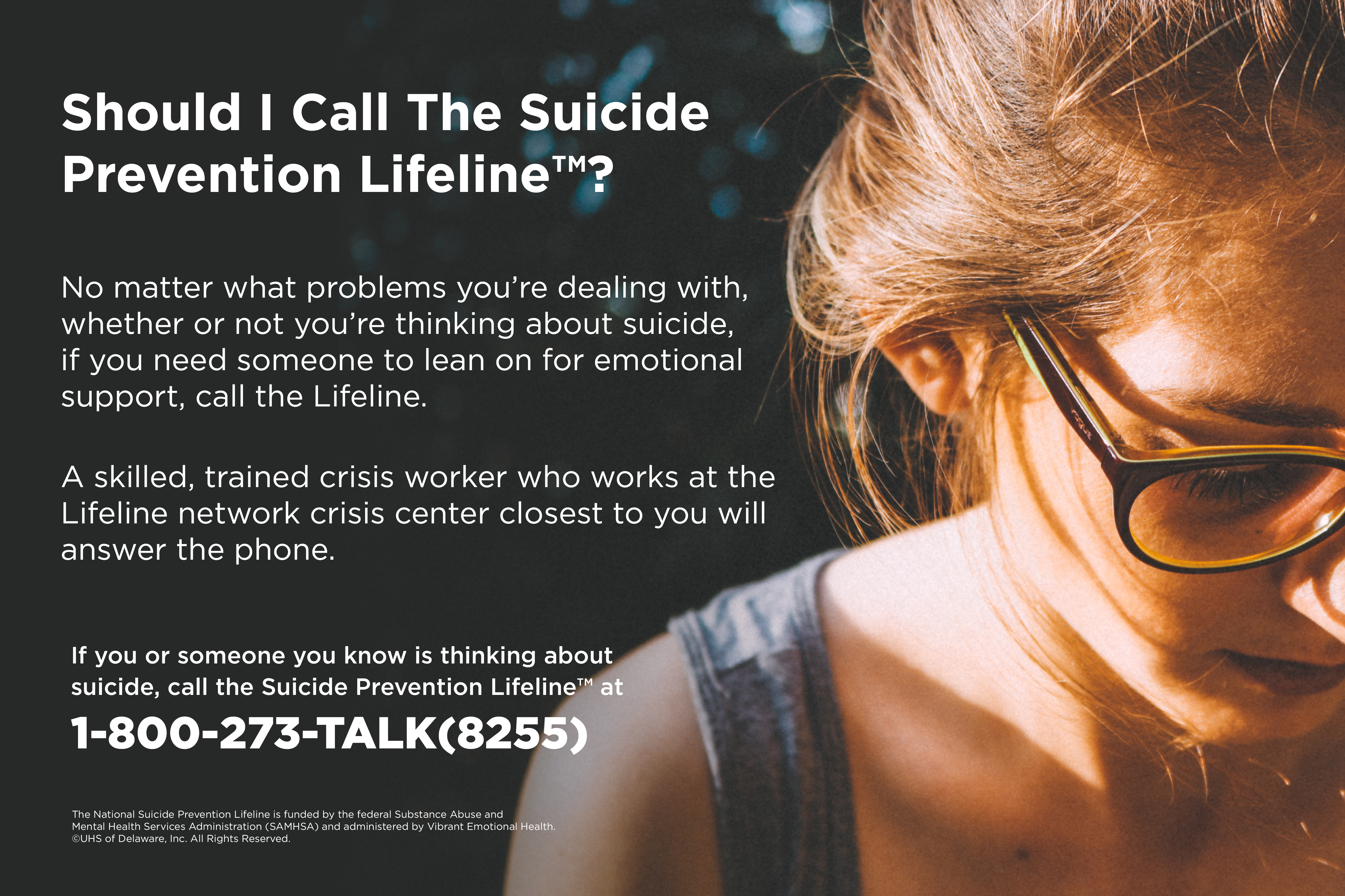 Should I Call The Suicide Help Prevention Lifeline?