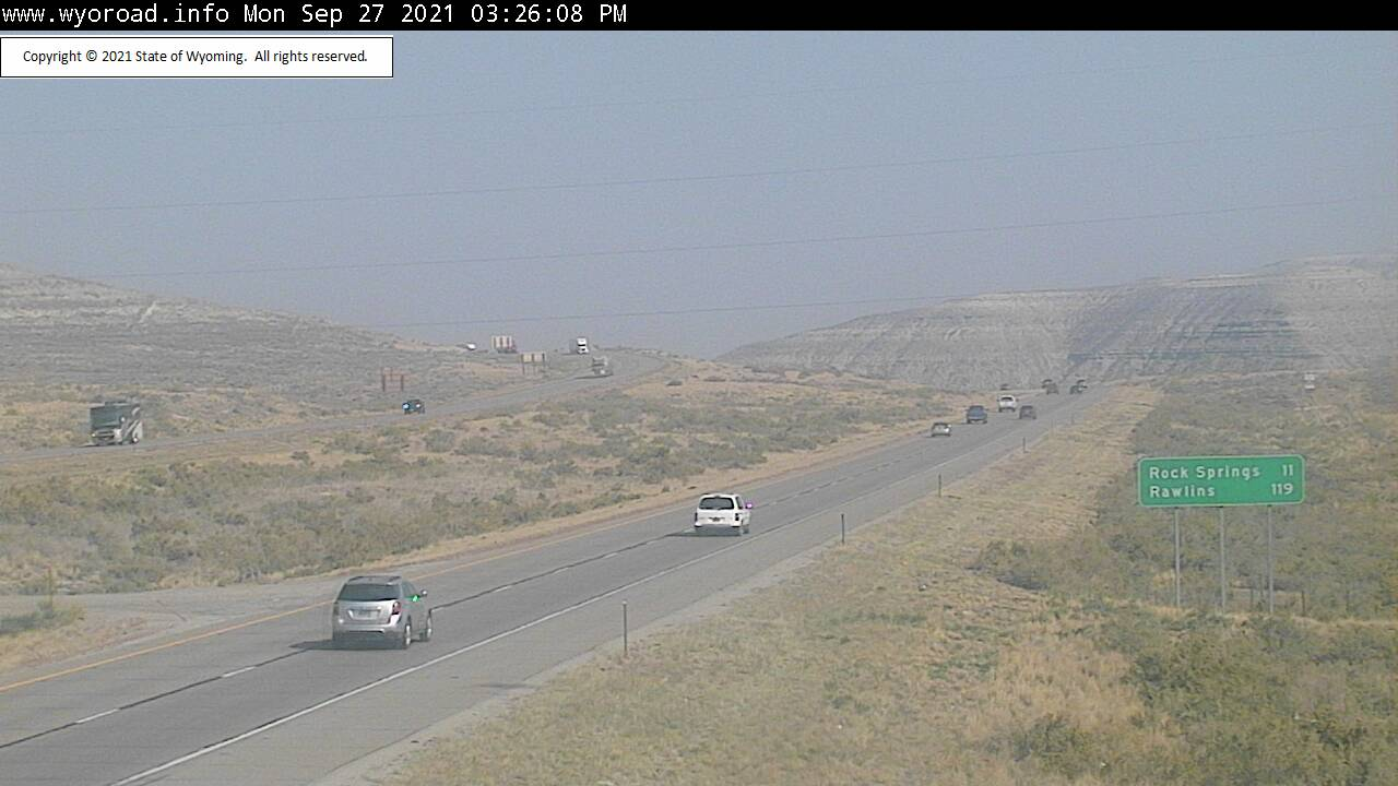Western Wyoming back under Air Quality Alert due to California wildfires