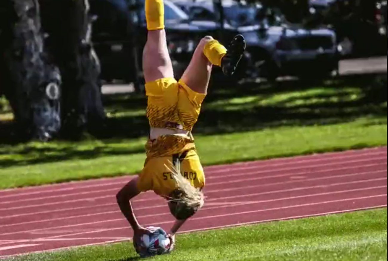 Wyoming Cowgirls make SportsCenter Top 10 with acrobatic flip throw-in leading to header goal